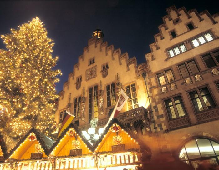 Julmarknad på Römerberg