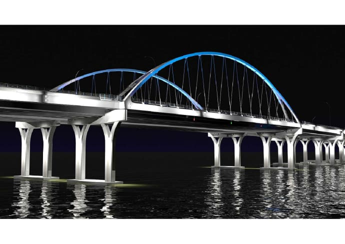 Pensacola Bay Bridge i Florida